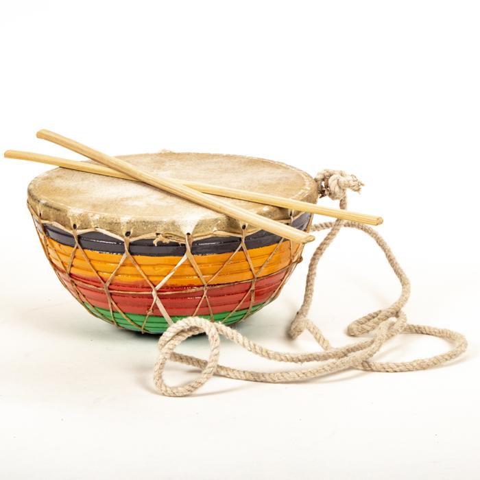 Rainbow tasha drum | TradeAid