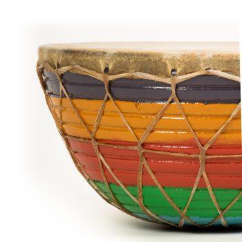 Rainbow tasha drum | Gallery 1 | TradeAid