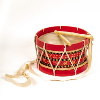 Red and black marching drum | TradeAid