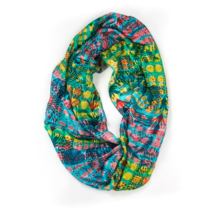 Silk loop scarf | TradeAid