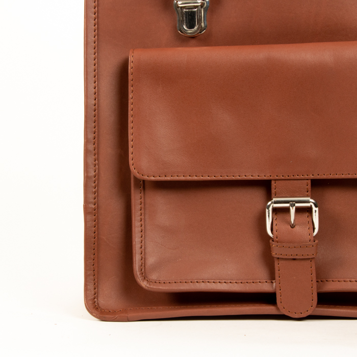 Leather backpack | Gallery 2 | TradeAid
