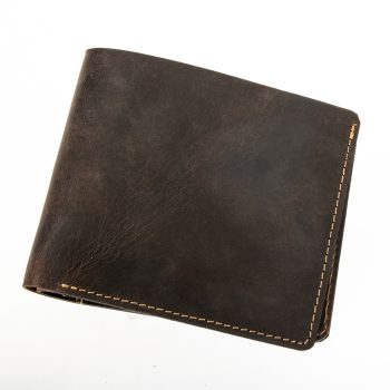 Brown leather wallet | TradeAid