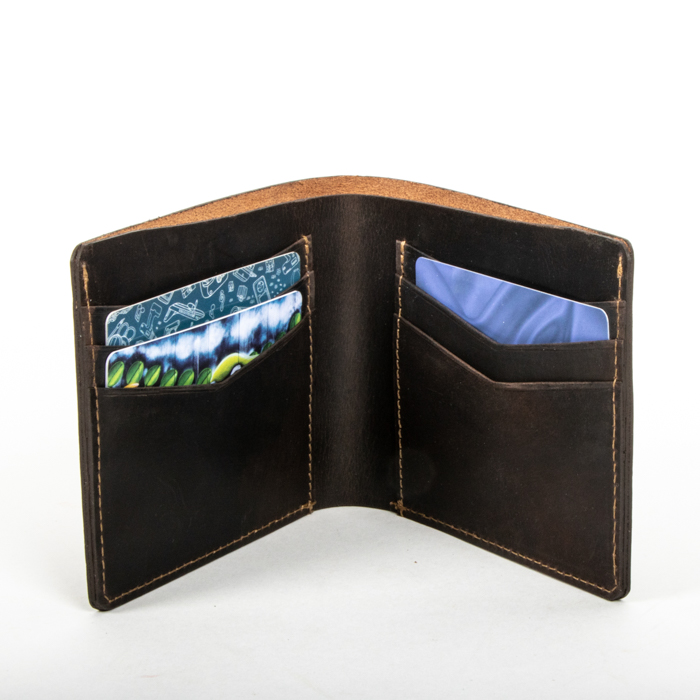 Brown leather wallet | Gallery 2 | TradeAid