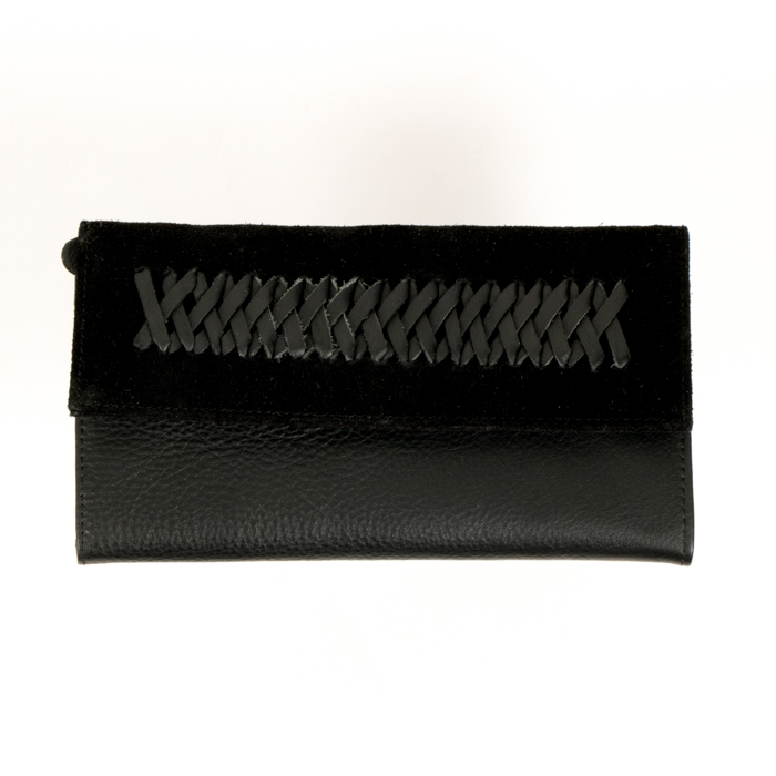 Leather braid wallet | TradeAid