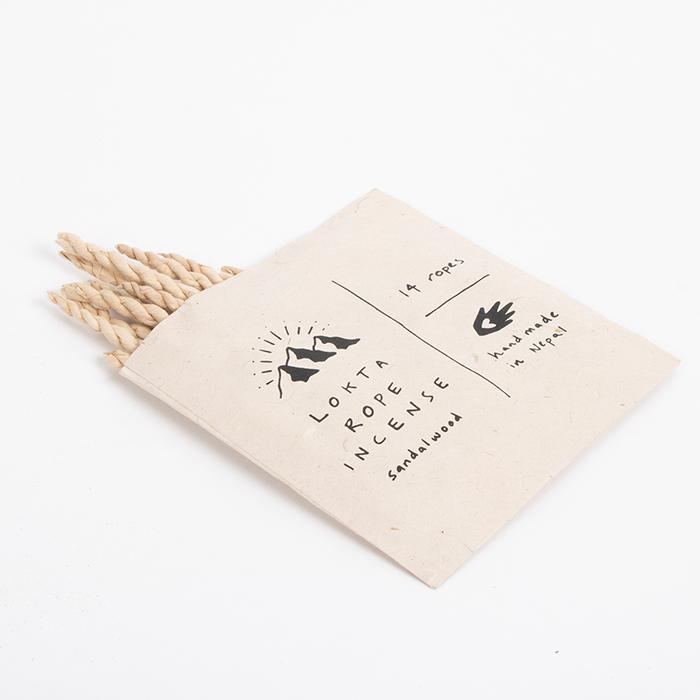 Lokta rope incense – sandalwood   Gallery 1   TradeAid