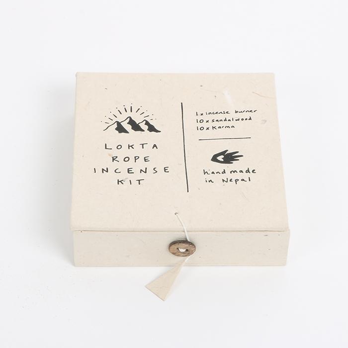 Lokta incense gift kit | TradeAid