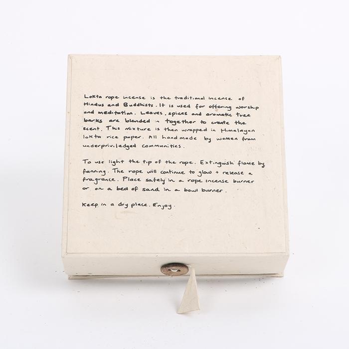 Lokta incense gift kit | Gallery 2 | TradeAid