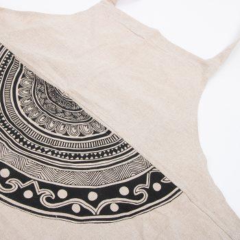 Mandala print apron | TradeAid