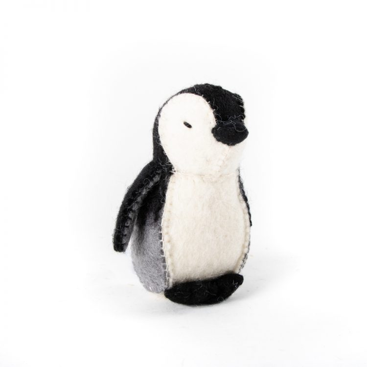 Felt penguin   TradeAid