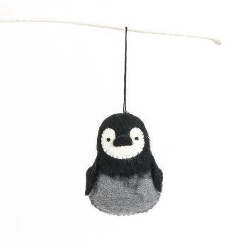 Felt penguin ornament | TradeAid