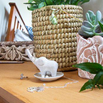 Elephant jewellery stand | TradeAid
