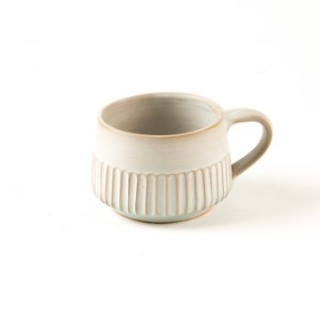 Stoneware striped mug | TradeAid