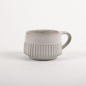 Stoneware striped mug | TradeAid