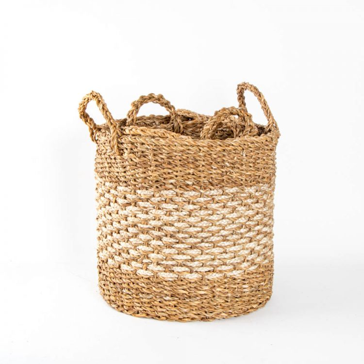 Hogla and jute baskets (set of four) | Gallery 2 | TradeAid