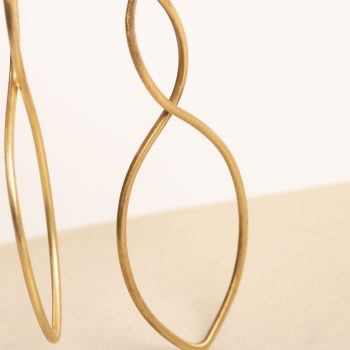 Twisted metal earring   Gallery 2   TradeAid