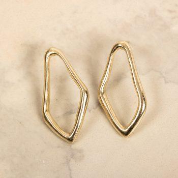 Diamond shape studs | Gallery 2 | TradeAid