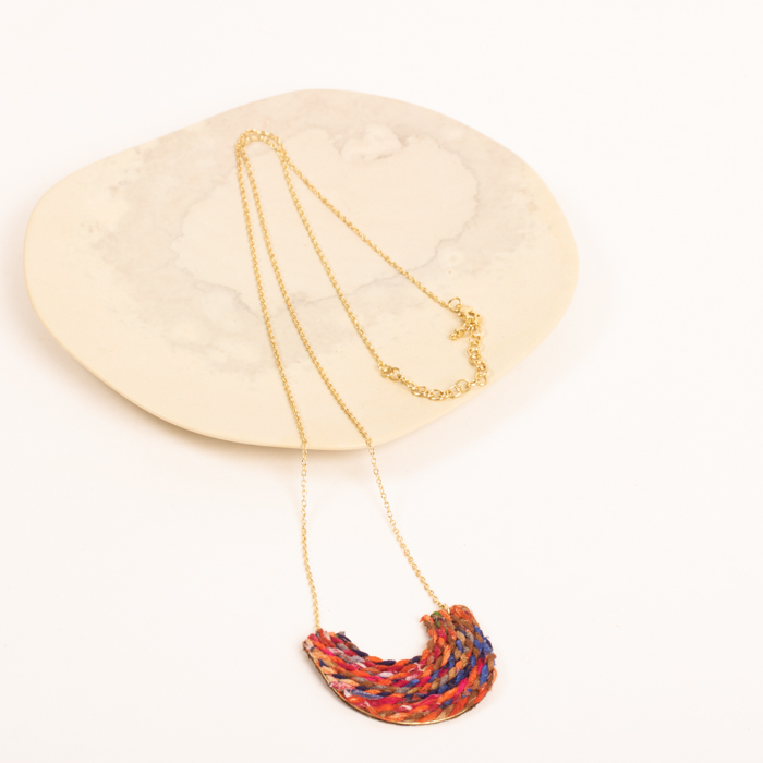 Recycled thread necklace | Gallery 1 | TradeAid