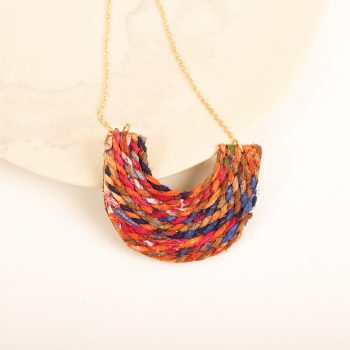 Recycled thread necklace | TradeAid