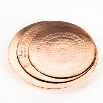 Copper plates (set of three) | TradeAid