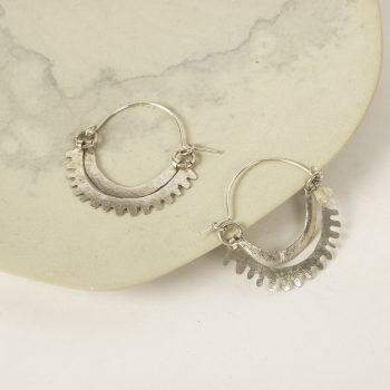 Rising sun hoop earrings | TradeAid