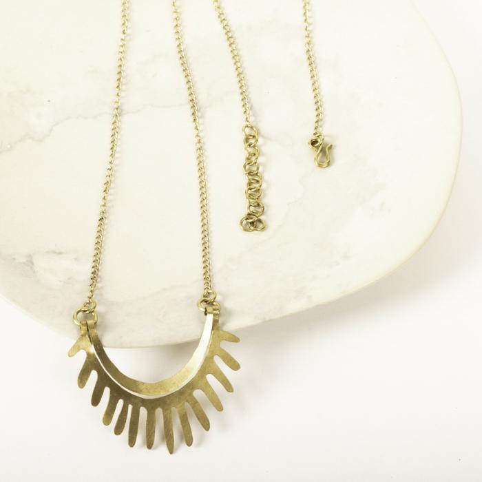 Rising sun necklace | Gallery 2 | TradeAid