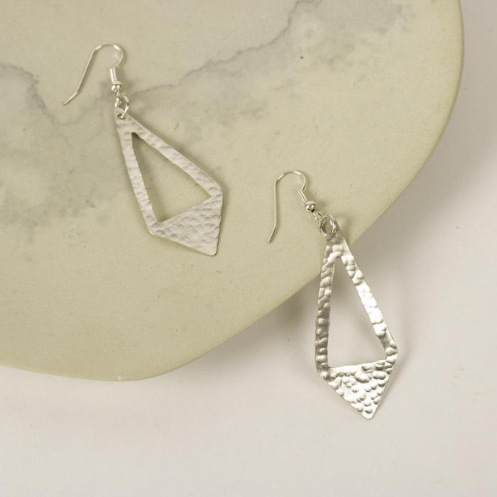 Arrow drop earrings | TradeAid