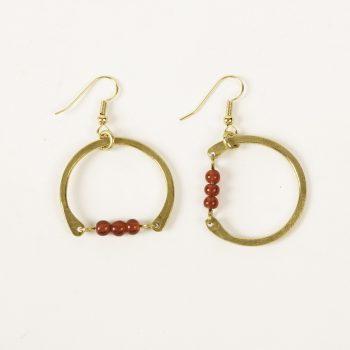 Beaded circle earrings | Gallery 2 | TradeAid
