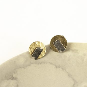 Rectangle and disc studs | Gallery 1 | TradeAid