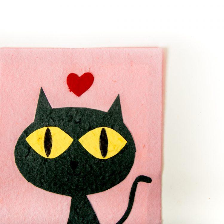 Grey cat card | Gallery 1 | TradeAid