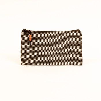 Black and white purse   TradeAid