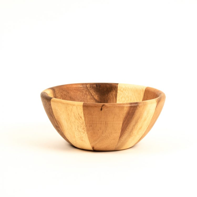 Striped wooden bowl | TradeAid