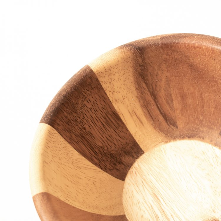 Striped wooden bowl | Gallery 2 | TradeAid