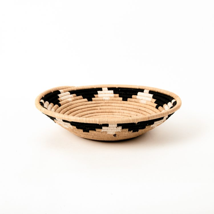 Black and yellow flower bowl | Gallery 1 | TradeAid