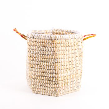Kaisa hexagonal basket | TradeAid