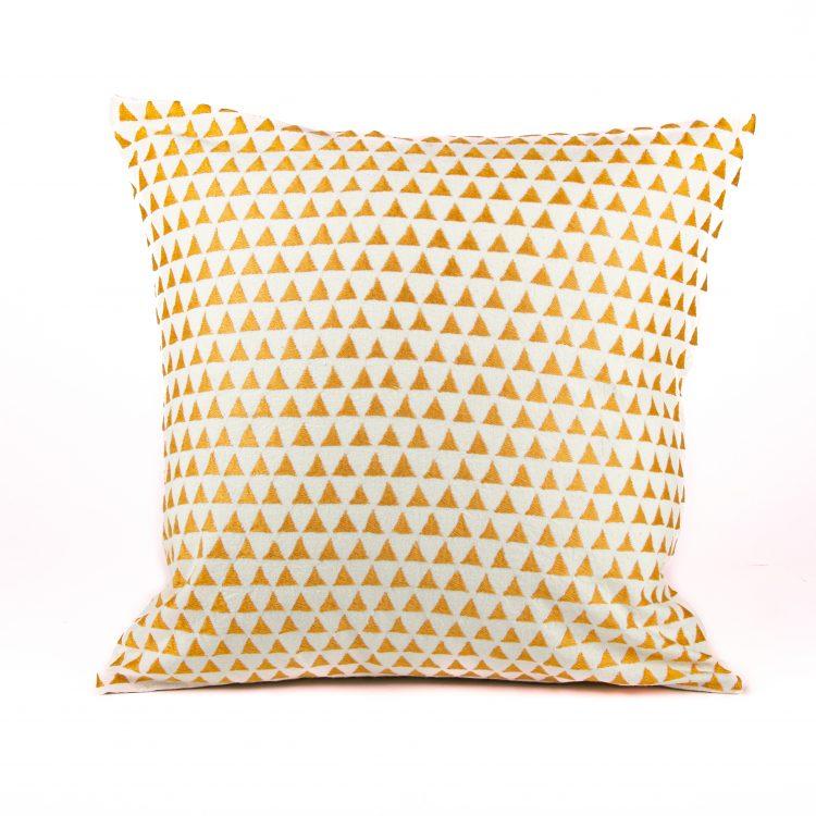 Mustard hills cushion cover   TradeAid