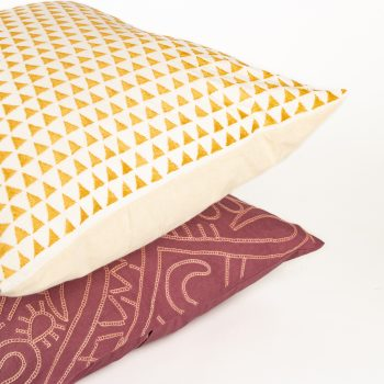 Mustard hills cushion cover   Gallery 2   TradeAid
