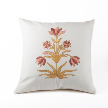 Exotic flower cushion cover | TradeAid