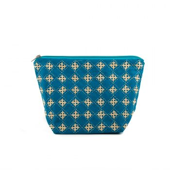 Blue floral utility pouch | TradeAid
