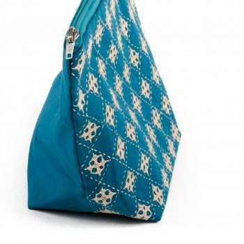Blue floral utility pouch | Gallery 1 | TradeAid