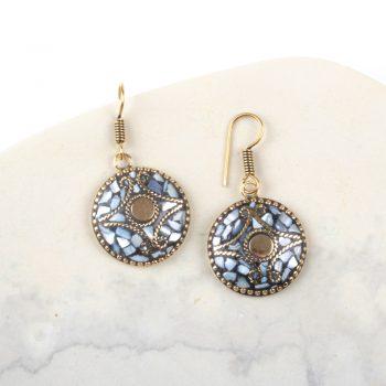 Mosaic shell earring | TradeAid
