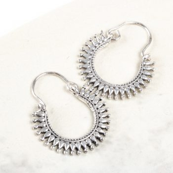 Crown hoop earring | TradeAid