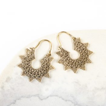 Jali spike earring | TradeAid