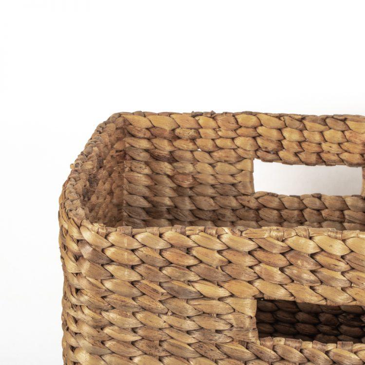Square water hyacinth basket (set of three) | Gallery 2 | TradeAid
