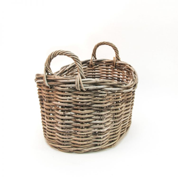 Rattan oval baskets (set of two) | Gallery 2 | TradeAid