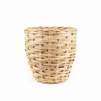 Round rattan basket | TradeAid