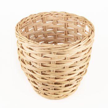 Round rattan basket | Gallery 1 | TradeAid