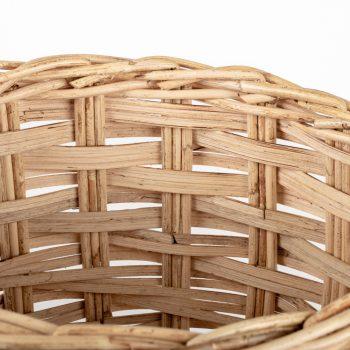 Round rattan basket | Gallery 2 | TradeAid
