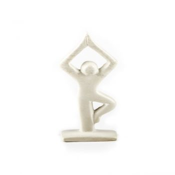 Tree pose sculpture | TradeAid