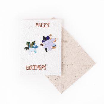 Floral birthday card | TradeAid