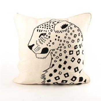 Leopard cushion cover | TradeAid